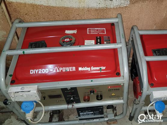 welding generator with electricity 5.0 55391237