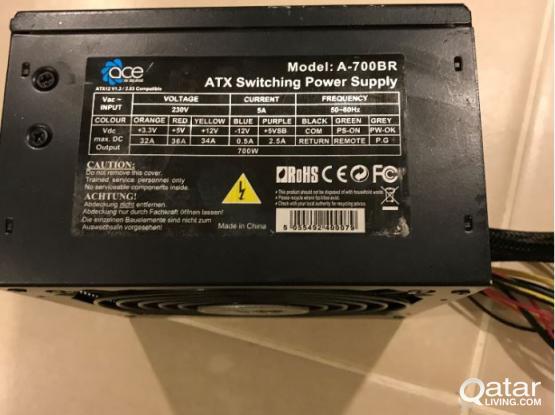 ACE 700W BR PSU Power Supply