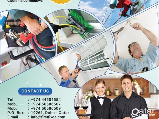 Providing Cleaning  services