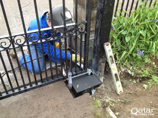 We install automated gates