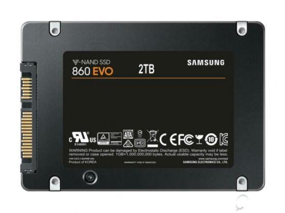 samsung 860 evo 2 TB