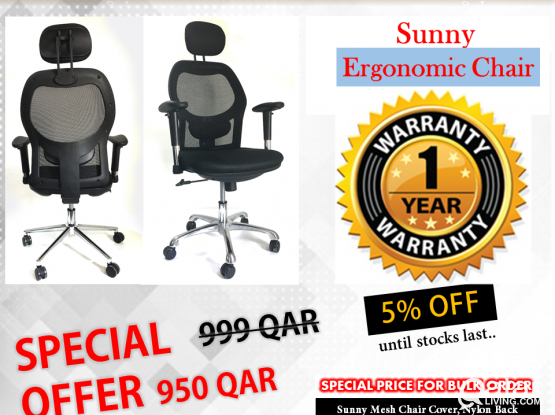 Sunny Office Chair Free Delivery