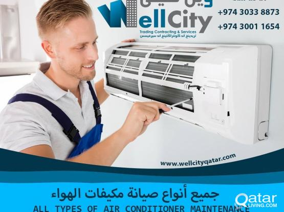 We do all types of air condition works