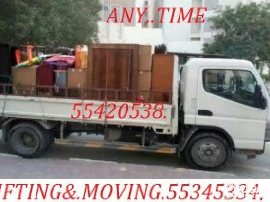55420538.TRANSPORT-SHIFTING,MOVING,CARPENTAR,HOUSE SHIFTING,WITH-TRUCK&PICK UP-PLEASE~CALL.55345334