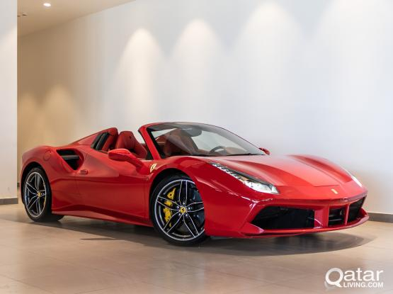 Ferrari 488 Spider 2017