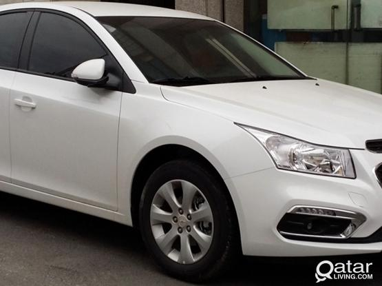 Weekend Offer!Rent Chevrolet Cruze for only 50/-Qr per day minimum 10 days and get 3 days extra free