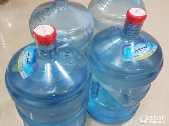 Water Dispenser + 5 Manhal Bottles + 4 Voucher