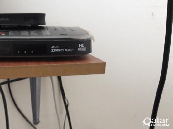 airtel set a box+dish+remote for sale full HD