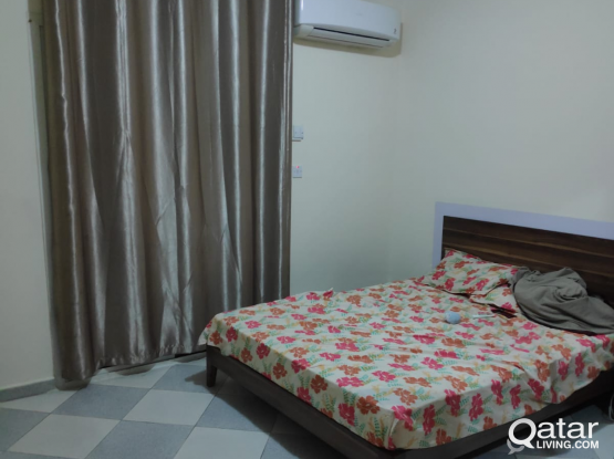 2bhk,2 bathroom shared accommodation bachelors