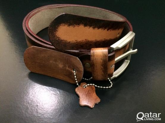 Guarantied Genuine Leather Belts - Dual Shade