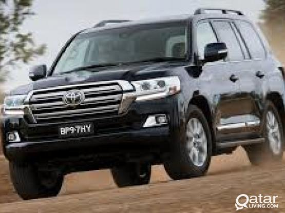 Exclusive Offer! Rent Land Cruiser 2015 model for only 200/-Qr per day