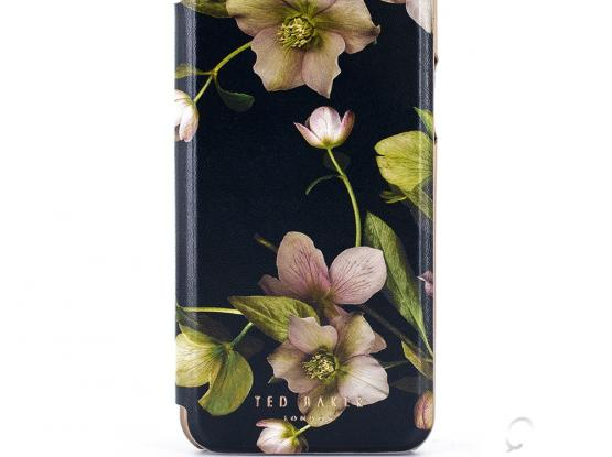 TED BAKER ARBORETUM MIRROR FOLIO CASE FOR IPHONE XS MAX