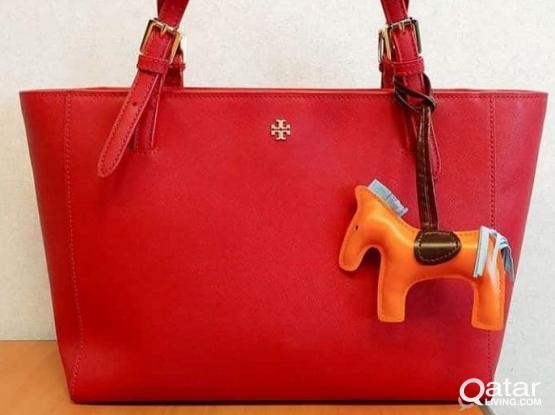 Authentic Tory Burch Red Handbag