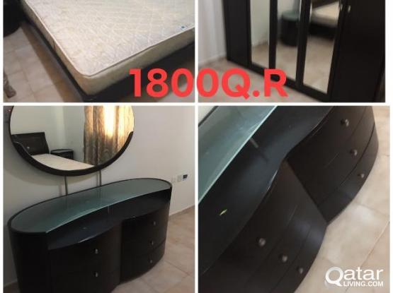 For Sell Bedroom set and other Furniture Contact What's app 50448944