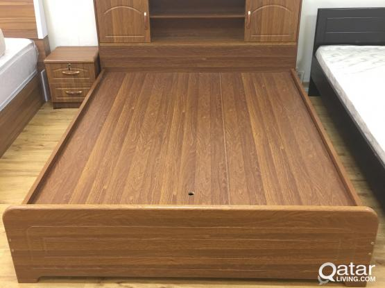 WOODEN BED 160x200 BRAND NEW CONTACT:33280157