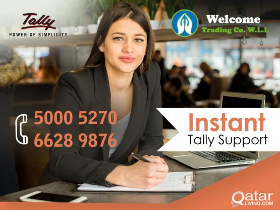 Tally Support in Qatar 24 x 7