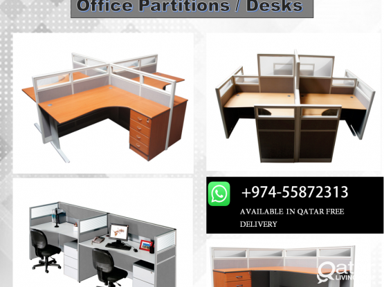 Office Desks / Office Partitions with free delivery