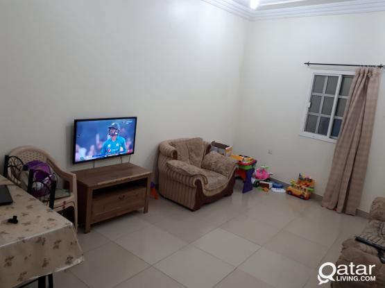 2 BHK PHILIPPINE ASIAN FAMILY ACCOMMODATION ( ONE MONTH FREE) @ OLDAIRPORT BEHIND DOHA BANK