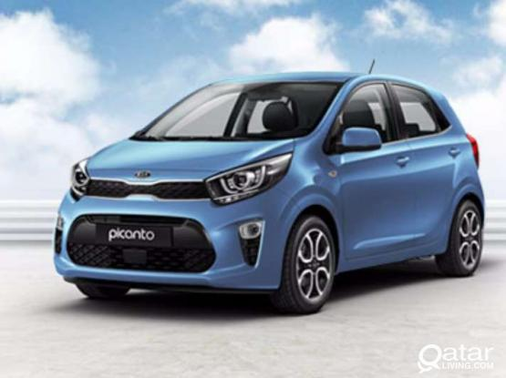 Kia picanto for rent 1200 Qr/month.Get 10 days free
