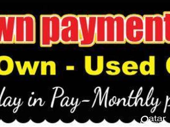 Rent to Own your vehicle with NO DOWNPAYMENT