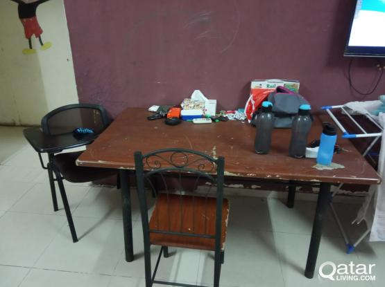 Refrigerator,Dinning Table,Gas Stove with regulator