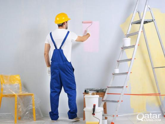 Painting|Tiles|Gypsum|Professional Service Provider in Qatar