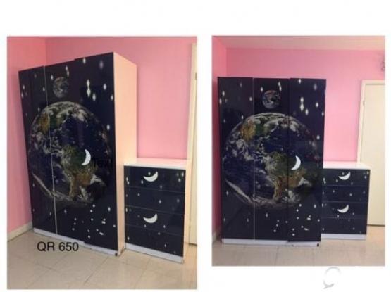 3 Door Wardrobe  4 Drawer Chest
