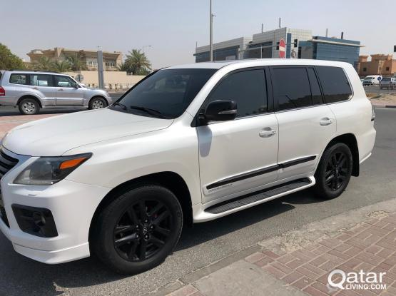 Lexus LX 570 Supercharger 2012