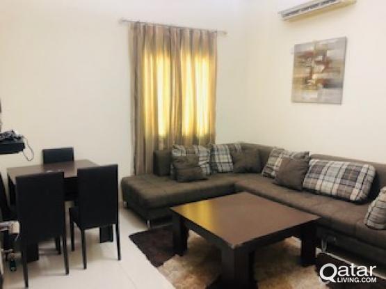 1 month free fully furnished 1bhk villa apartment in Al Gharaffa