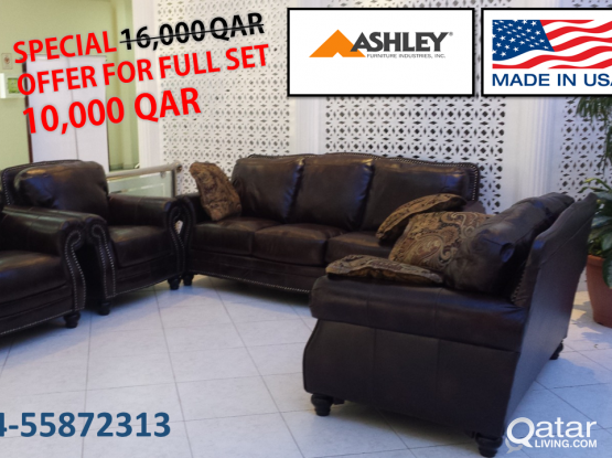 ASHLEY SOFA FULL SET  ON CLEARANCE SALE
