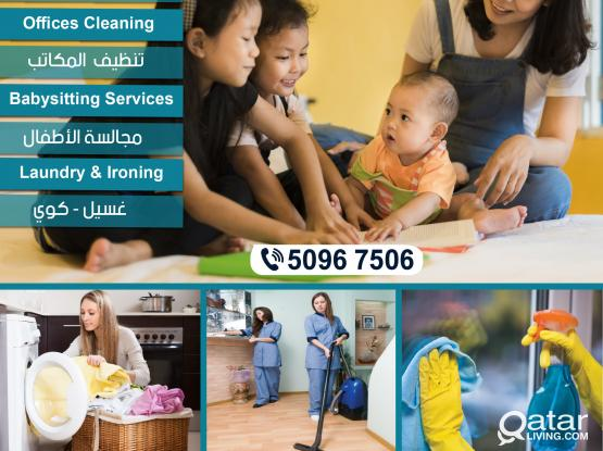 Cleaning Services & babysitting