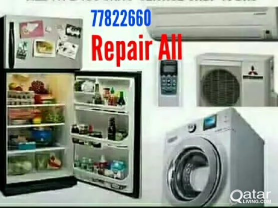WASHING MACHINE A/C FRIDGE REPAIR 77822660