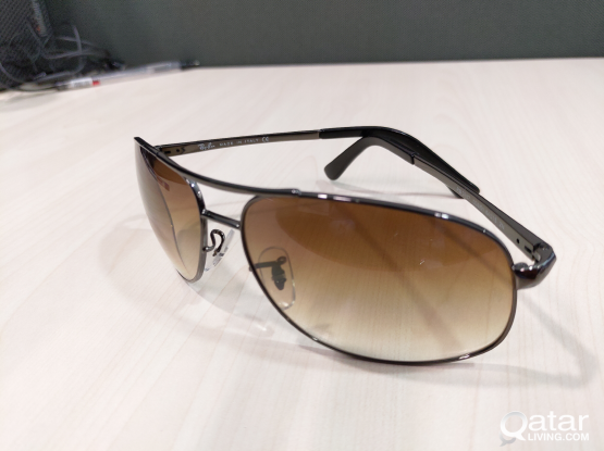 Ray-Ban sunglasses Gradient light brown Italy made