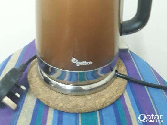 GETTCO WATER KETTLE (HARDLY USED)