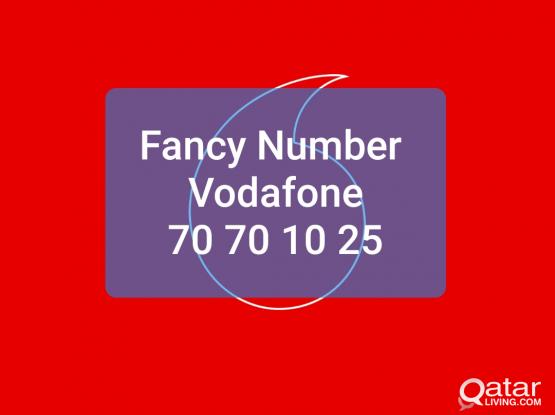 Fancy Number 70 70 10 25