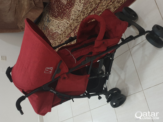 Double Twin Baby Stroller
