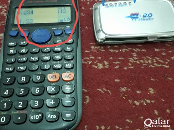 Usb2.0 card reader  Casio scientific calculator