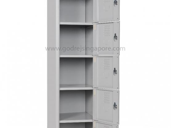 6 COMPARTMENTS LOCKER with KEY