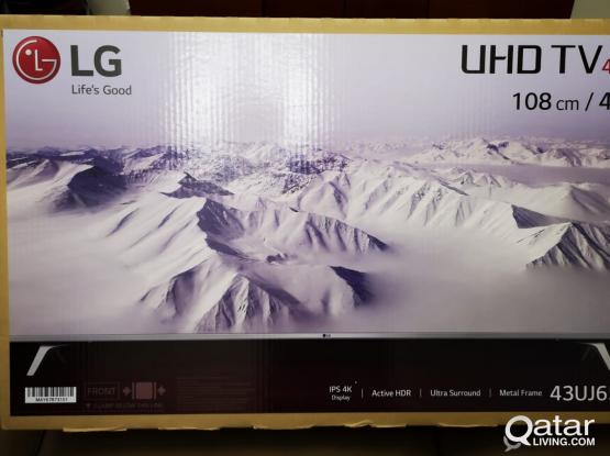 New lg tv 43 inch 4k UHD