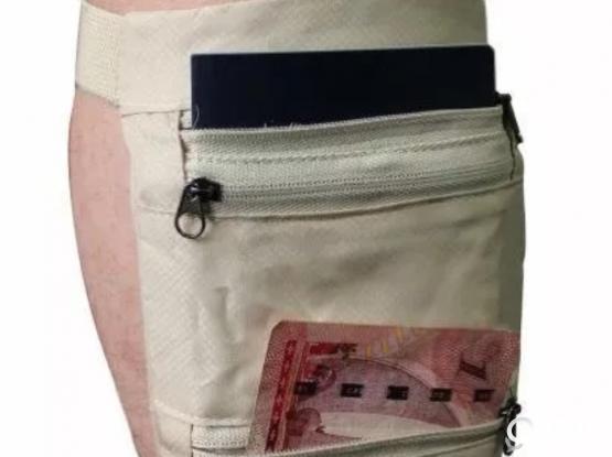Safety leg wallet
