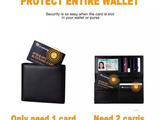 RFID Card Blocking Signals