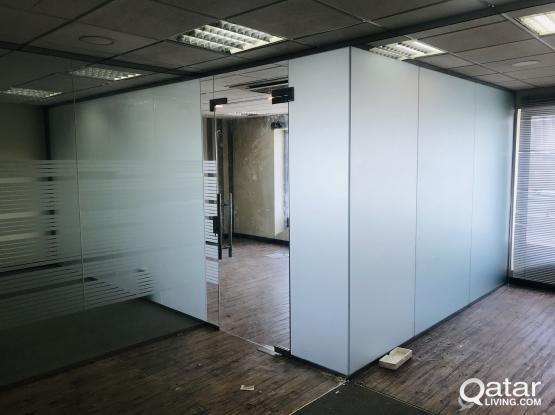 187 Sqm Partitioned office near Ramada Signal