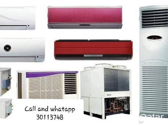 A/C Service. A.C Maintenance A.C Repair. Selling.Fixing.Gass Filling, Cleaning & Removing. We buy Used and Damage A/C. We do Satellite al★We Are Doing Work Whole Qatar. (Service 24 Hours). ★We Have Up To 8 Years Experience in A/C Section.(call :-30113748)