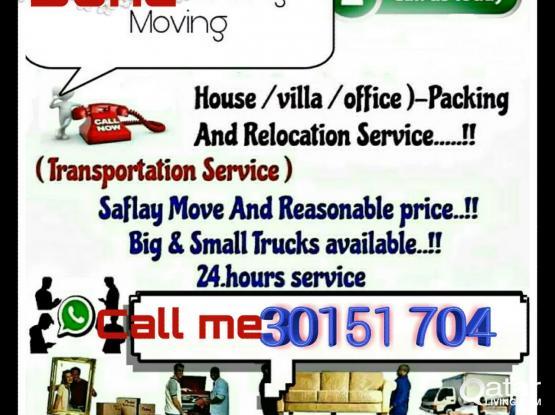 Shifting & moving,, call me,, 30151704transportation service