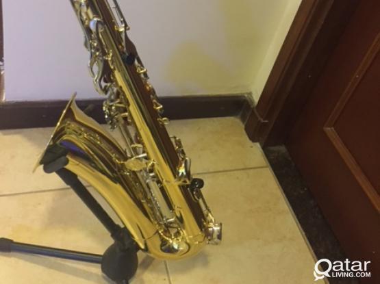 Yamaha Tenor Saxophone @ Qr. 5500/- contact 33088698
