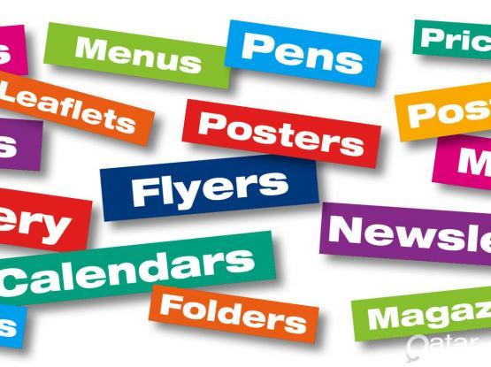 DIGITAL & OFFSET PRINT, DIGITAL MEDIA MARKETING, SCREEN & FABRIC PRINT, SIGNAGE WORKS  CALL @ 31535005