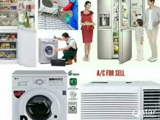 we repair AC washing machine and frigde 30408326