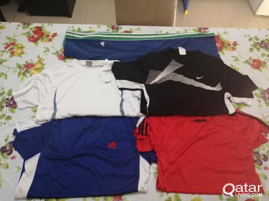 Nike and Adidas training kit bundle