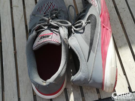 Nike and reebok training shoes