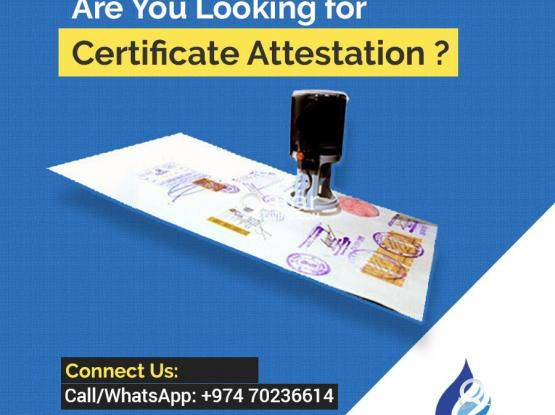 Certificate Attestation - Within 10 Days